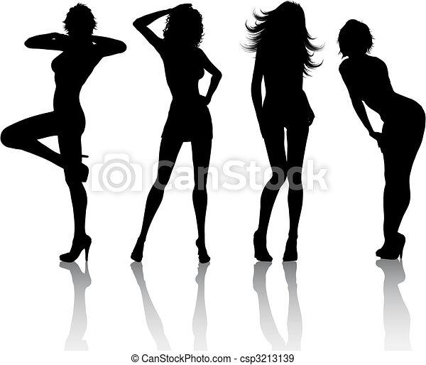 femmine, sexy - csp3213139