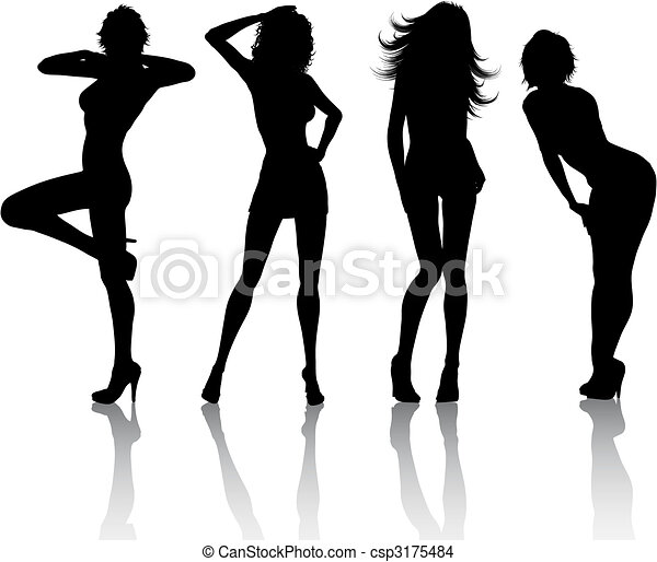 femmine, sexy - csp3175484