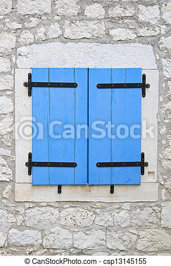 Fen tre abat jour pierre bleue maison fen tre ferm for Fenetre jour de souffrance