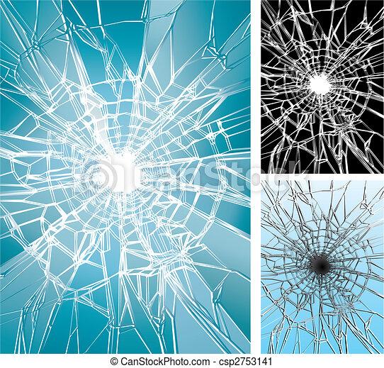fenêtre, cassé - csp2753141