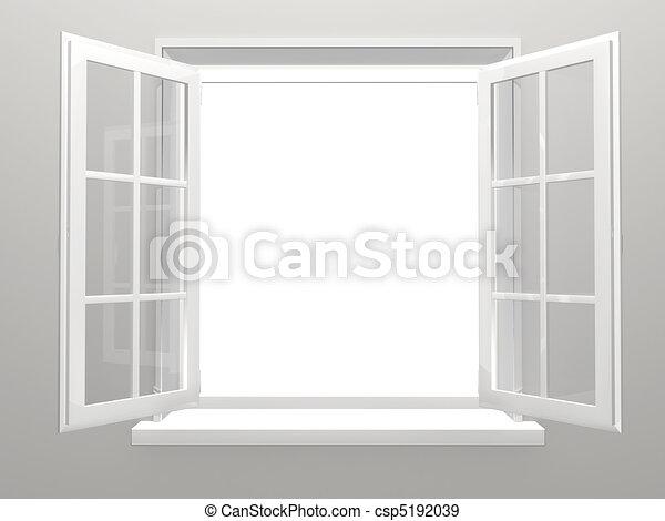 fenêtre - csp5192039