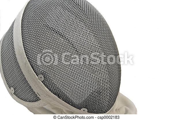 Fencing Mask - csp0002183
