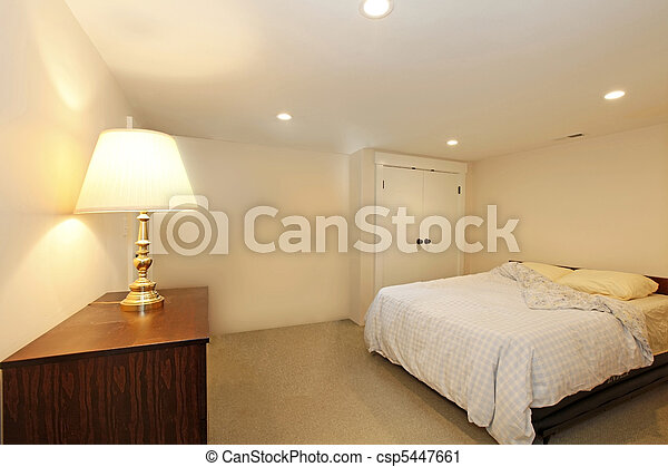 Fenetres, Sans, Chambre à Coucher   Csp5447661