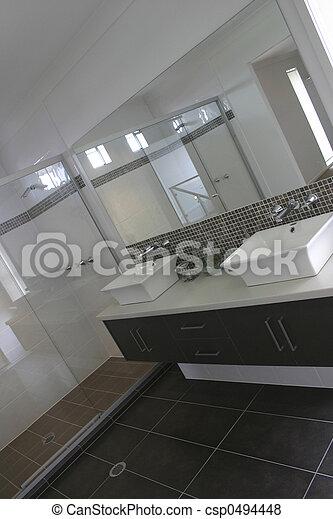 feng shui bathroom - csp0494448