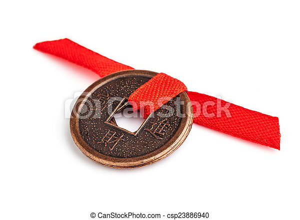 Feng shui coins  - csp23886940