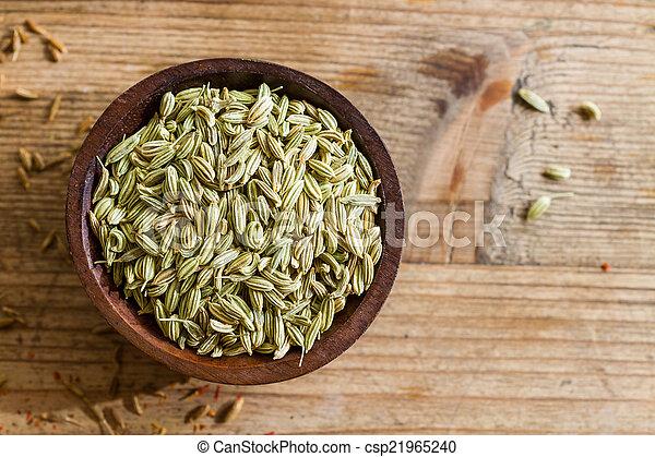 Fennel seeds - csp21965240