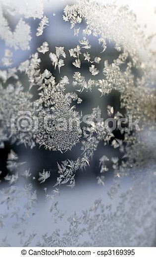 Gefrorenes Fenster - csp3169395
