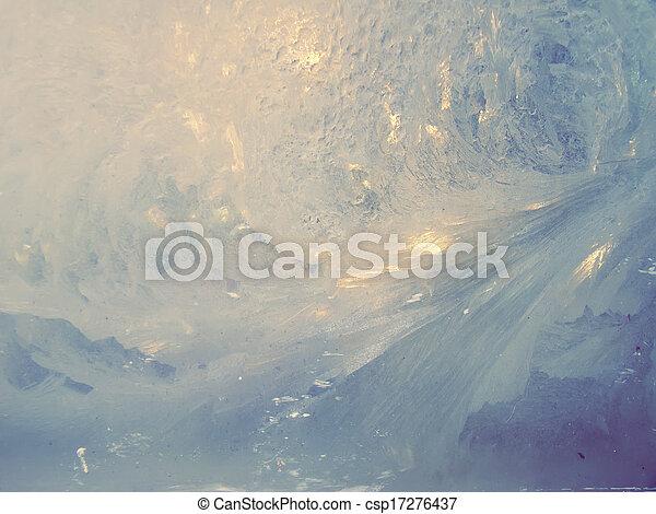 Gefrorenes Fenster - csp17276437