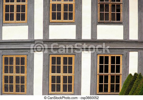 Fenster Fachwerkhaus fenster fachwerk window timber framing 02 stock photo search