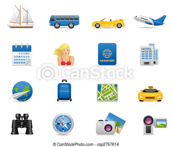 Un icono de vacaciones - csp2767614