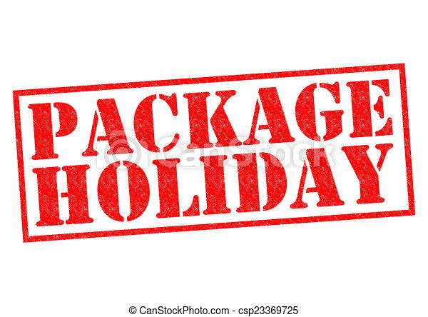 Paquete de vacaciones - csp23369725