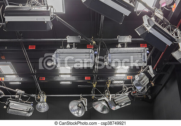 Fernsehstudio - csp38749921