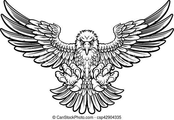 Ferocious Eagle - csp42904335