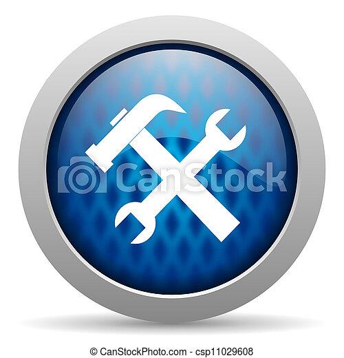 ferramentas, ícone - csp11029608