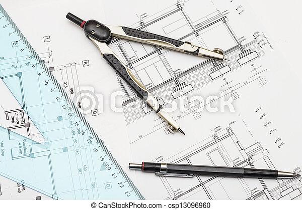 ferramentas, planos - csp13096960