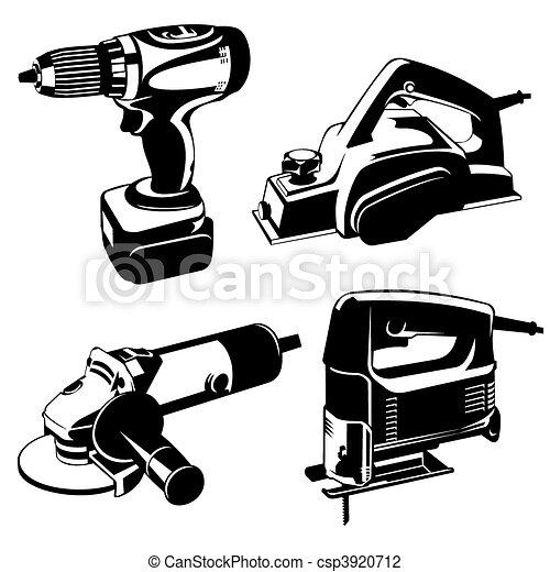 ferramentas, poder - csp3920712