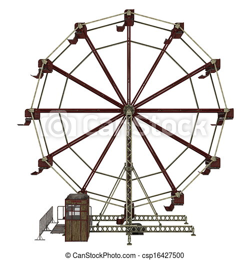 Image of ferris wheel stock illustration - Search Clipart ...