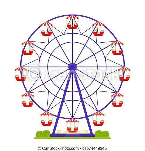 Funfair Rides Stock Illustrations – 958 Funfair Rides Stock Illustrations,  Vectors & Clipart - Dreamstime