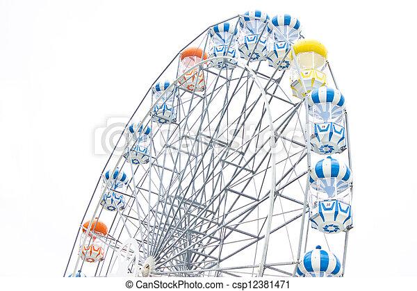 Ferris wheel. - csp12381471