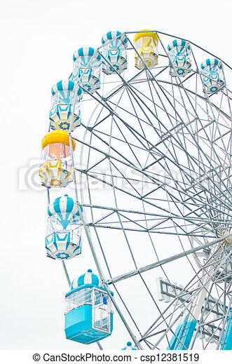 Ferris wheel. - csp12381519
