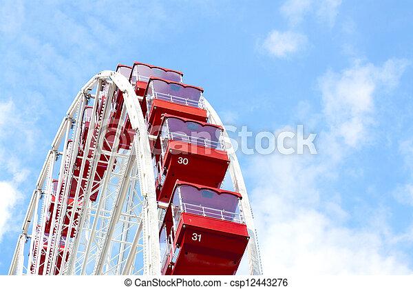 Ferris Wheel - csp12443276