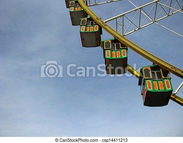 Ferris Wheel - csp14411213