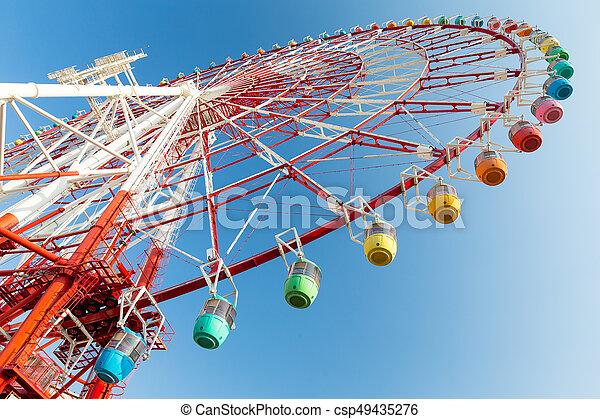 Ferris wheel - csp49435276