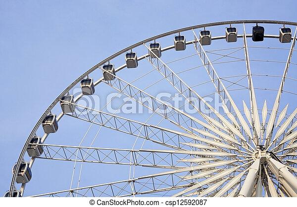 Ferris wheel - csp12592087