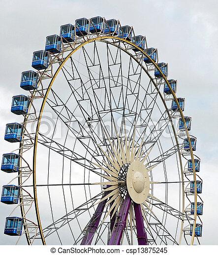 Ferris Wheel - csp13875245