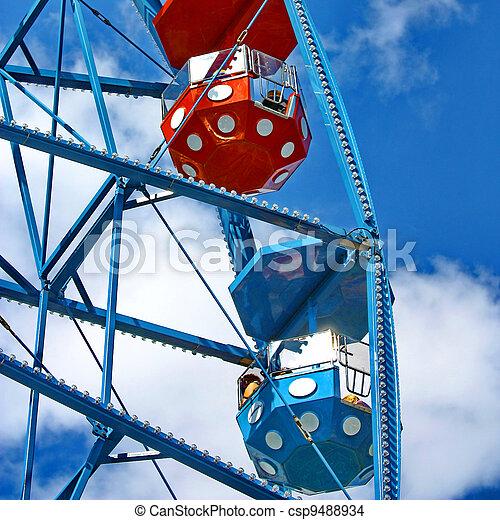 Ferris wheel - csp9488934
