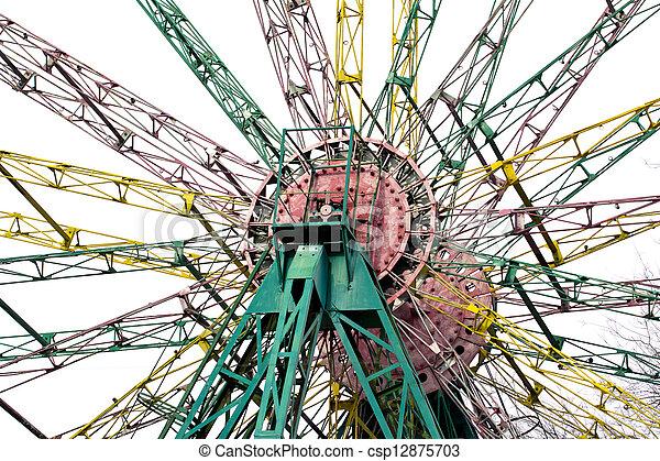 ferris wheel - csp12875703