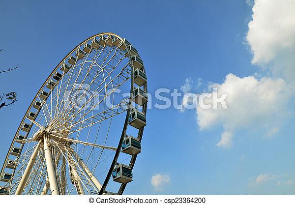 Ferris wheel - csp23364200