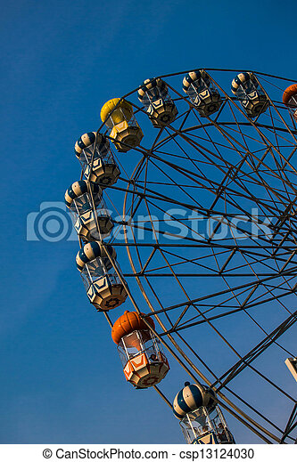 Ferris wheel - csp13124030