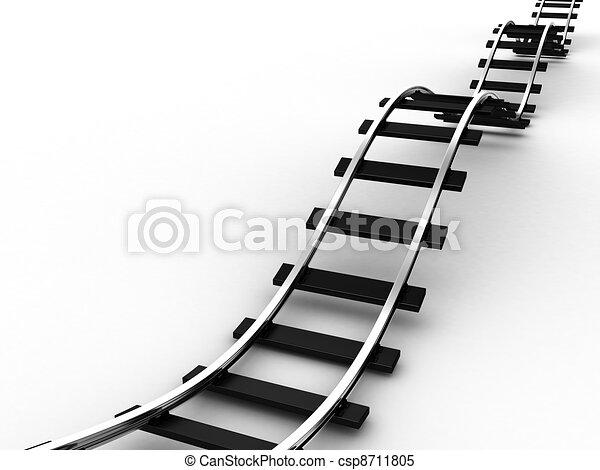 ferrovia - csp8711805