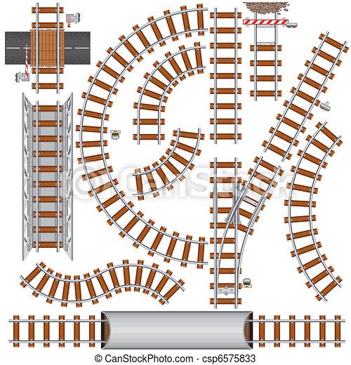ferrovia, elementos - csp6575833