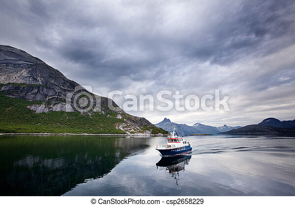 Ferry Norway - csp2658229