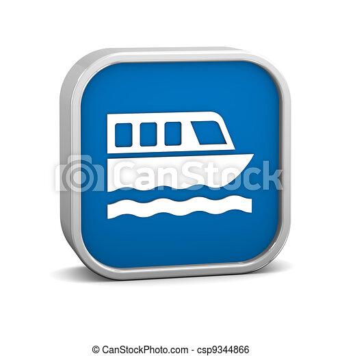 Ferry sign - csp9344866