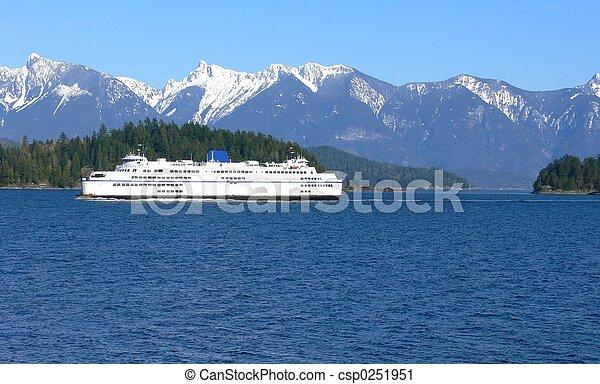 Ferry travel - csp0251951