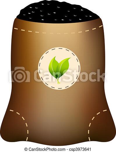 fertilizante, saco - csp3973641