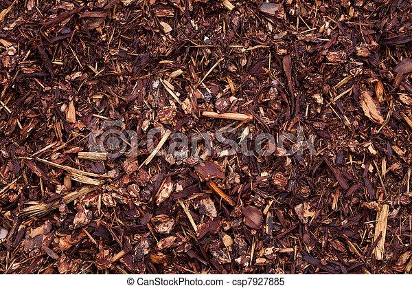 fertilizer mulch - csp7927885