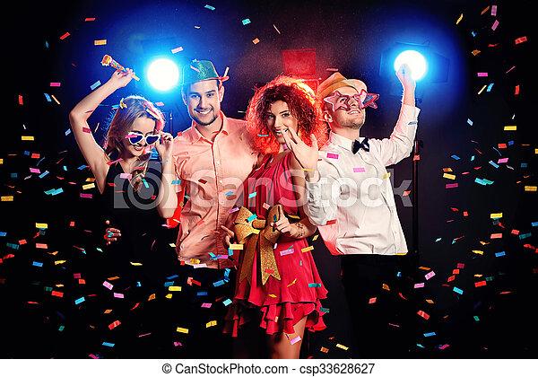 festa, godere - csp33628627