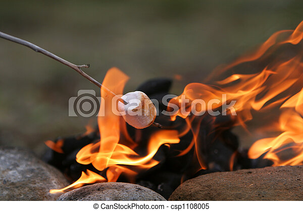 festa, marshmallow - csp1108005