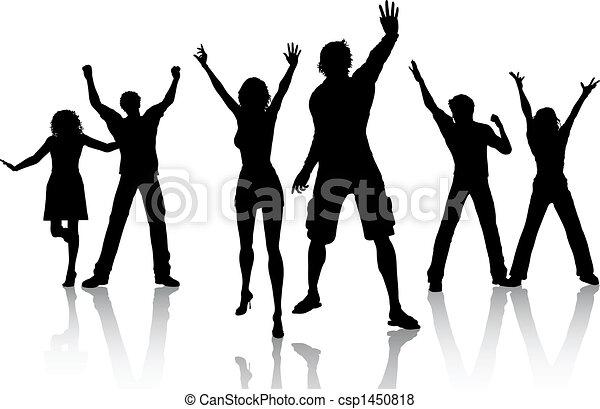 festa, persone - csp1450818