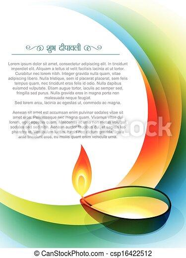 festival, diwali, indisk - csp16422512