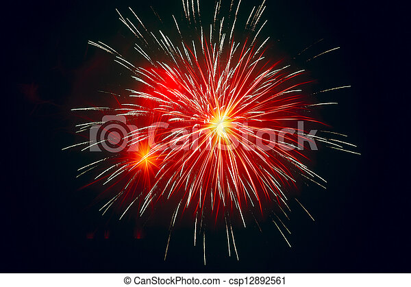 festival, fireworks, celebrare - csp12892561