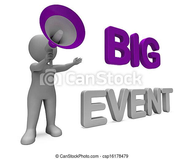 festival, grande, esposizione, carattere, esecuzione, occasione, evento, celebrazione - csp16178479