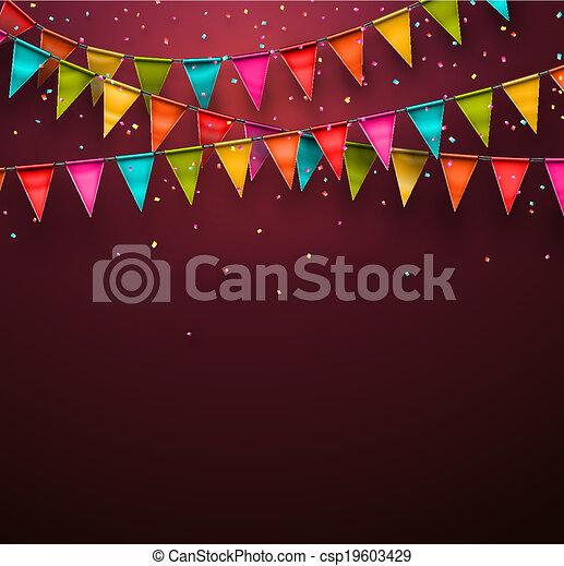 Festive background - csp19603429