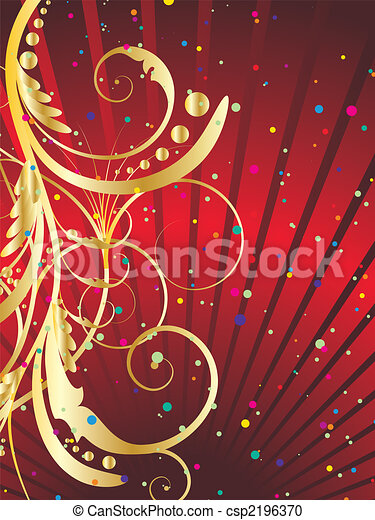 festive background - csp2196370