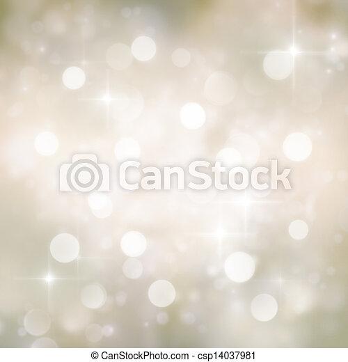Festive bokeh background - csp14037981