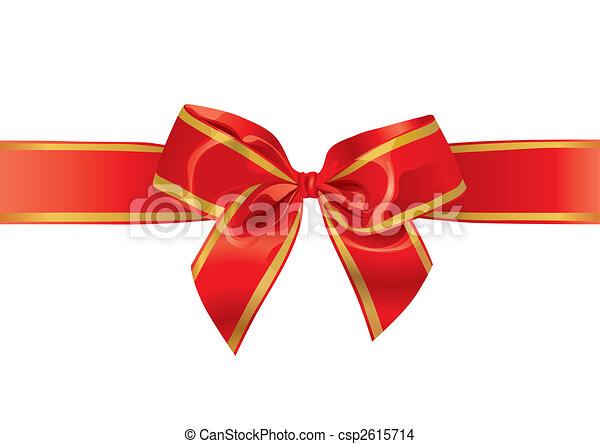 Festive Bow (vector) - csp2615714